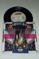 "LONDON BOYS - London Nights - 1989 German WEA 7"" Vinyl Single"