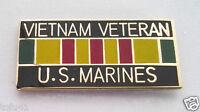 VIETNAM VETERAN US MARINES Military Hat Pin 15630 HO