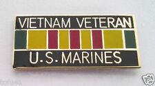 ** VIETNAM VETERAN US MARINES ** Military Veteran Hat Pin 15630 HO
