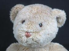 BIG COX COMMUNICATION BLONDE TEDDY BEAR SITS DOWN PLUSH STUFFED ANIMAL TOY