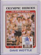 RARE 1983 M&M'S OLYMPIC HEROES DAVE WOTTLE RUNNING CARD #43