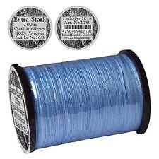 """Spule a. 100 m Nähgarn """"extra stark"""" h- blau, Ne 16/3, 100% Polyester Garn, 1759"""