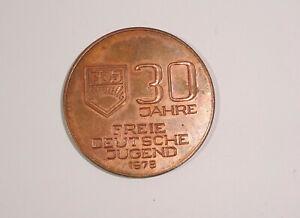 DDR Medaille 30 Jahre Freie Deutsche Jugend FDJ Kampf Reserve Görlitz