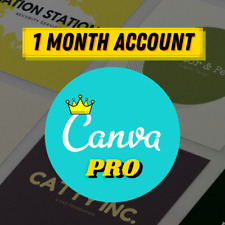 Canva PRO account 1 month