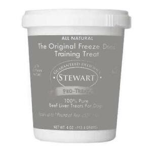 Stewart Freeze Dried Treats 4 oz Beef Liver