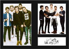 ONE DIRECTION #1 Signed Photo Print A4 Mounted Photo Print - FREE DELIVERY