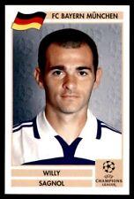 Panini Champions League 2000/2001 (Finale) - Willy Sagnol Bayern Munchen No. 29