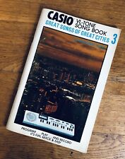 More details for casio music book great songs mca-vl3 vl-tone electronic keyboard synthesiser