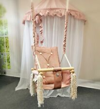 Baby Swing Swings Chair Child Wood Swing Chair Toy Summer Winter Swing Toddler