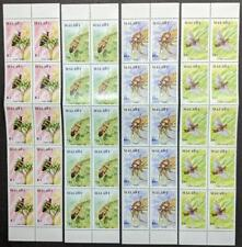 EDW1949SELL : MALAWI 1991 Scott #590-93 Insects 10 Cplt sets VF MNH Catalog $177