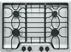 """Frigidaire FFGC3012TS 30"""" Stainless Sealed 4 Burner Cooktop New LP kit included  photo"""