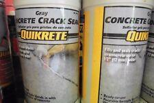 3 QUIKRETE concrete crack seal 1 quart gray Masonry Concrete LOT OF 3 quarts