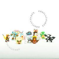 13 Pcs Pokemon GO Kyurem Zekrom Slowbro Emboar Whimsicott Figures Toys Gifts