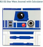 Disney Star Wars R2-D2 Robot Journal Notebook Diary W/ Calculator Exclusive New