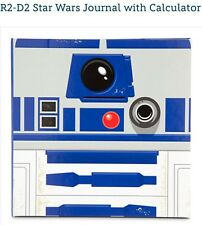 Disney Star Wars R2-D2 Robot Journal Notebook Diary W/ Calculator Exclusive New