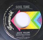 Soul 45 Jackie Wilson - Soul Time / Danny Boy On Brunswick