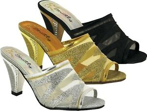 New Ladies Women Strictly Fashion Wedding/Party Sandal UK