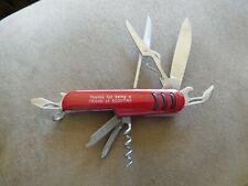 """SCOUT BSA FOLDING POCKET KNIFE 7 + TOOLS """"THANKS FOR BEING A FRIEND OF SCOUTING"""""""
