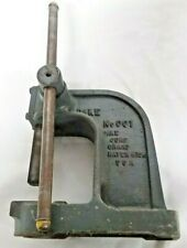 Dake No 001 Bench Top Arbor Press Grand Haven Michigan Made in Usa