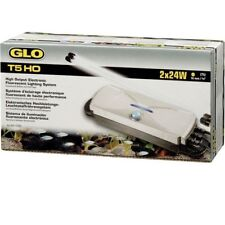 T5 HO GLO Twin Double Starter Fish Tank Electronic Controller Light Unit - Hagen