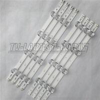 """8 pcs LED Strips For LG INNOTEK DRT 3.0 39"""" A B 39LB580V 39LB570V NC390DUN-VXBP2"""