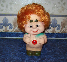 Rare Vintage Ussr 1970s Big Rubber Toy Carlson from the tales of Astrid Lindgren