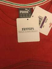 New with tags PUMA Men's Ferrari Shield Tee, Rosso Corsa, XX- Large RED