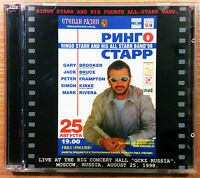Ringo Starr And His All Starr Band - Live Moscow Russia '98 2cd Beatles RARE