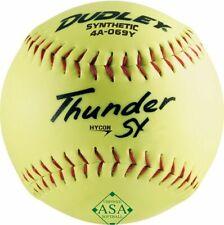 "Dudley 12"" Thunder SY Hycon ASA Synthetic Slowpitch Softball"