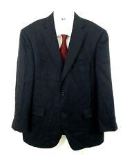 black HART SCHAFFNER MARX jacket blazer sport coat LORO PIANA 100% CASHMERE 42S