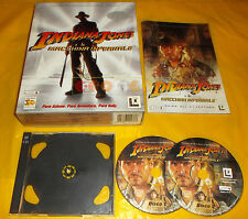 INDIANA JONES E LA MACCHINA INFERNALE Pc Ver Italiana 1ª Ediz Big Box ○ COMPLETO
