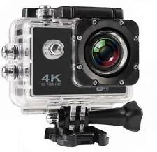 Sports Action 4K Camera W/ 2 inch LCD Display & Accessories