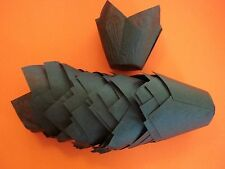 200 Brown Tulip Style Baking Cups Cupcake Liners. Large 2 3/4 - 4 Inches ~ NEW