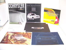 2002 CHRYSLER 300M CONCORDE PT SEBRING PROWLER NEON JEEP SALES BROCHURES (8)