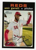 2020 Topps Heritage #448 AMIR GARRETT Cincinnati Reds HIGH # SHORTPRINT SP