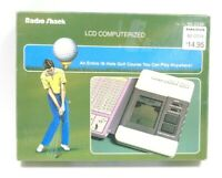 VINTAGE 1991 RADIO SHACK CHAMPIONSHIP GOLF GAME HAND HELD ELECTRONIC TANDY CORP
