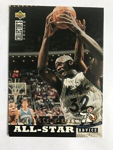 Vintage NBA Basketball Shaquille O'Neal Player Card Upper Deck 197 1994