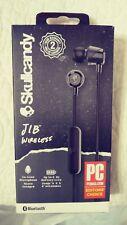 Skullcandy JIB Wireless Earbuds w / In-Line Mic-Black