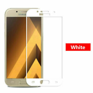 Full Coverage Tempered Glass Screen Protector For Samsung Galaxy A8 2018 A5 2017