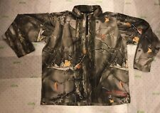 Youth Kodiak Kids by Lucky Bums Camo Realtree Hunting Long Sleeve Shirt Size XL