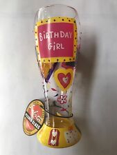 Lolita Pilsner Birthday Girl Glass Beer 22 oz