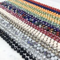 Fall Colors Knotted Long Glass Beads Hand-Knotted Beaded Layering Long Necklace