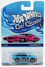 Hot Wheels '85 Honda CR-X Cool Classics Pink Card #BDR32 New NRFP Blue 1:64