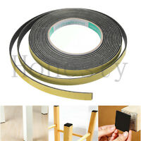 5M Black Single Sided Self Adhesive Foam Tape Sponge Rubber Strip Door Seal