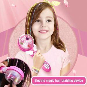 Kids Automatic Magic Hair Braider Machine DIY Tool Set Quick Twist Twister Style