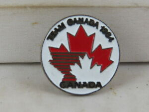 Vintage Hockey Pin - Team Canada 1984 - Stamped Pin