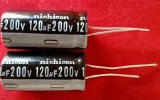 2 x 120uf 120mfd 200V 105°C Electrolytic Capacitor + USA FREE SHIPPING