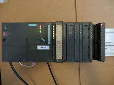 Siemens 6ES7 316-2AG00-0AB0 SIMATIC S7-300 CPU 316-2 DP w/IO modules Rack Tested