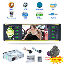 "4.1""DC 12V HD 1DIN Car MP5 Player Bluetooth Touch Screen Radio+Remote Control"