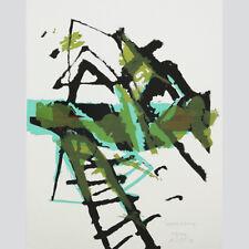 Antal Lux. palomar. abstracta en color composición. farbserigraphie.